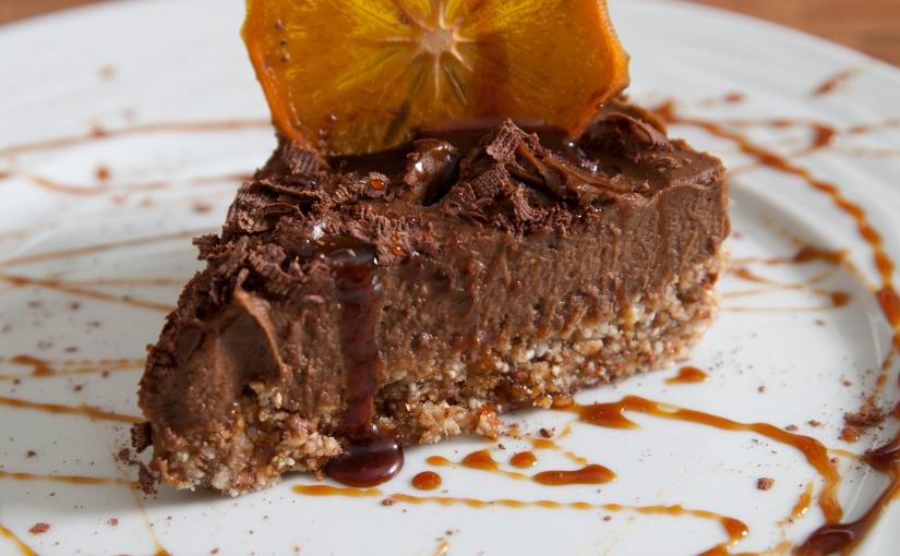 Σοκολατόπιτα Αβοκάντο